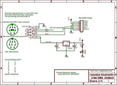 hacking roomba  search results  makezine circuit diagram