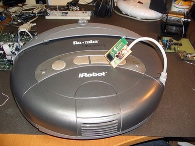 Hacking Roomba 187 Build A Roomba Bluetooth Adapter