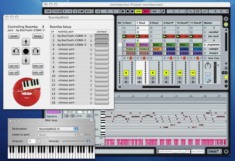 Hacking Roomba » RoombaMidi2: A better OS X MIDI interface